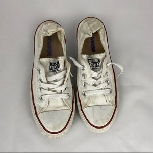 Slip-On White Converse All Star Shoes